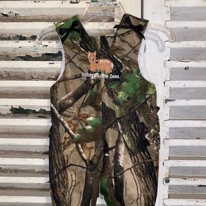 Jordon Lee Daddy's Little Deer Camouflage Outfit